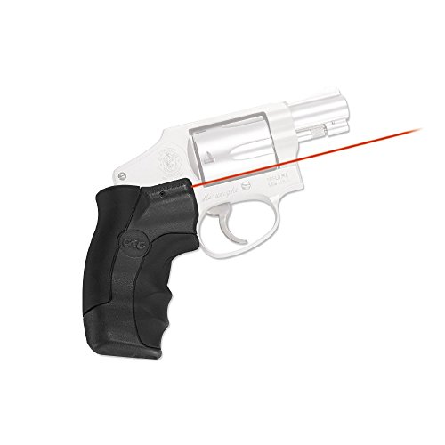 Crimson Trace LG-350 Smith & Wesson, J-Frame Round Butt Lasergrip, Red