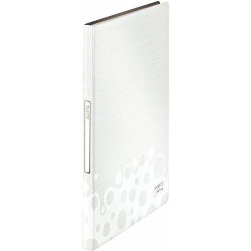 Leitz 45650001 Bebop Sichtbuch (Polyproplyen, A4, 40 Hüllen) weiß