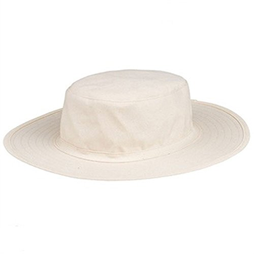 Amber sporting goods Cricket Hat White Medium