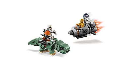 ارخص مكان يبيع LEGO Star Wars: A New Hope Escape Pod vs. Dewback Microfighters 75228 Building Kit , New 2019 (177 Pieces)