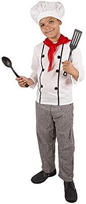Costumizate! Disfraz de Cocinero Talla 10-12 Especial para niños ...