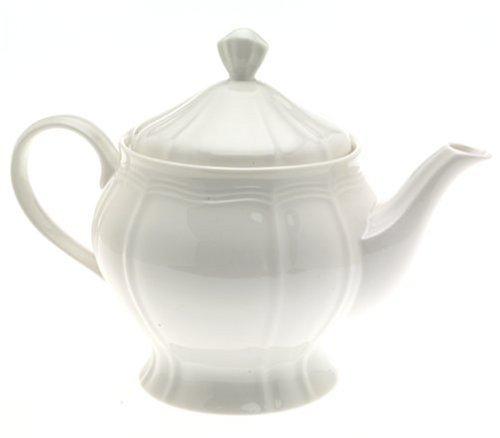 White Antique Style Teapot