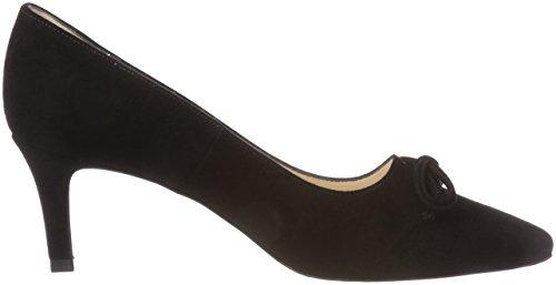 Peter Kaiser Women's Mizzy Closed Toe Heels Black (Schwarz Suede 240) N7sshzPaD