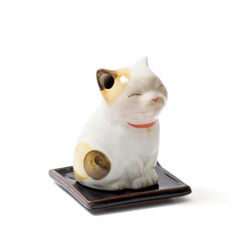 (Shoyeido's Kitty Cat Maneki Neko Incense Holder)