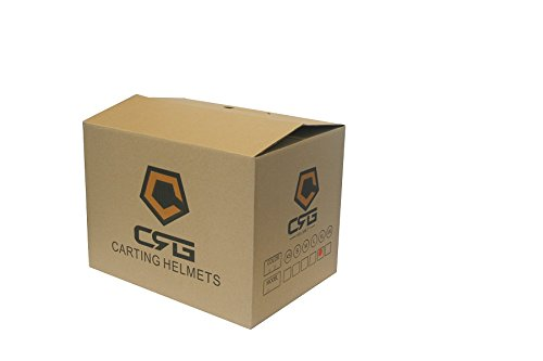 CRG Sports ATV Motocross Motorcycle Scooter Full-Face Fiberglass Helmet DOT Certified ATV-1 Glossy Black Size Large by CRG Sports (Image #7)