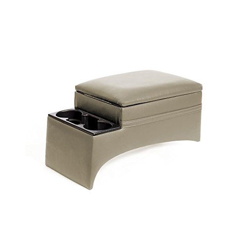 Texas Saddlebags Car and Truck Bench Console, Taupe (10314) (Texas Saddlebags Console)