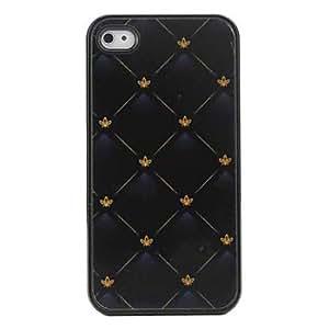 WQQ Carcasa Dura de Rombos para el iPhone 4 y 4S