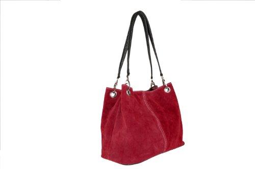 Scarlet Bijoux–Bandolera de varios colores H 22x B 31, T 12cm rojo - rojo