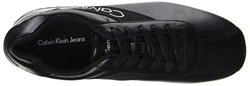 Calvin Smooth Elastic Uomo Klein Nero Sneaker Black Chad Black Nappa rq7Irwxft