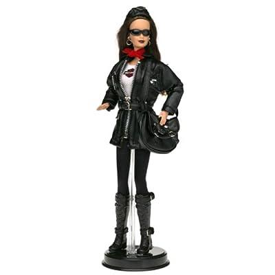 Harley-Davidson Barbie #3 Brunette Barbie Doll Motorcycle: Toys & Games