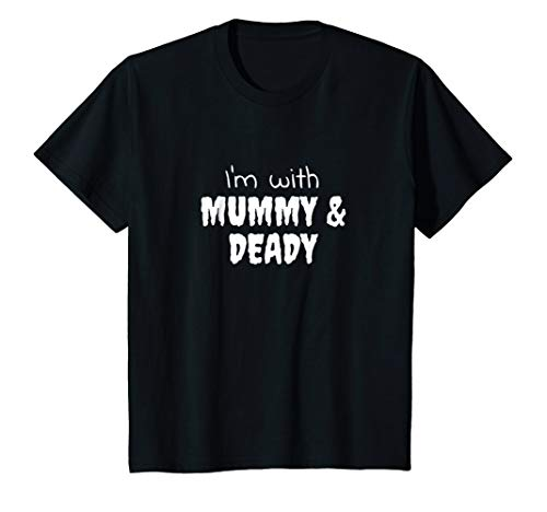 Kids Baby Halloween Outfit - 'Mummy And Deady' - Boy Girl Costume