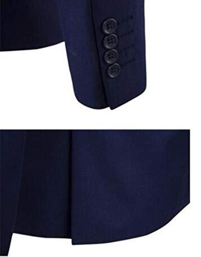 Confortable Costumes Costume D'affaires De Loisirs Mode Trois Red Pièces Manteau xRwH08TwZq