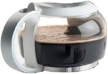 LACOR Tempo - Jarra de Cristal para cafetera (1,25 L, 30 x 30 x 30 ...