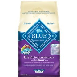 Blue Buffalo Blue Adult Toy Breed Bag, 4 lb. For Sale
