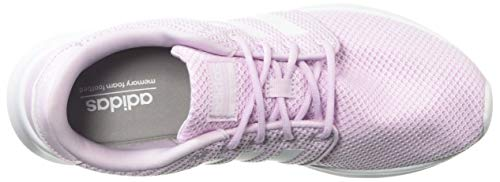 adidas Women's Cloudfoam QT Racer, White/aero Pink, 5.5 M US by adidas (Image #7)