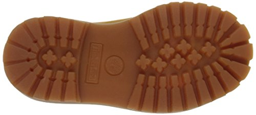 Timberland 6in Prem WP, Unisex-Kinder Stiefel Wheat Nubuck