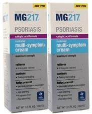 Formule Mg217 Medicated acide salicylique Multi-symptôme Cream - 3,5 once (Pack de 2)