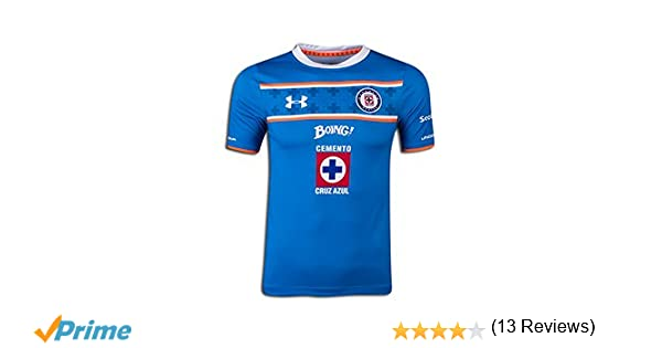 Amazon.com: Under Armour Youth Soccer Cruz Azul Home Jersey (Large): Clothing