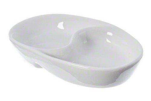 "American Metalcraft (SDV453) 4-1/2"" x 3"" Ying Yang Porcelain Sauce Cup"