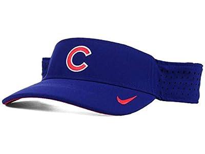 Genuine Merchandise Chicago Cubs Visor Hat Cap - Blue