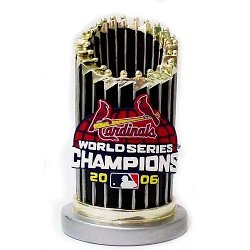 - Forever Collectibles St Louis Cardinals 2006 World Series Champs Paperweight Trophy