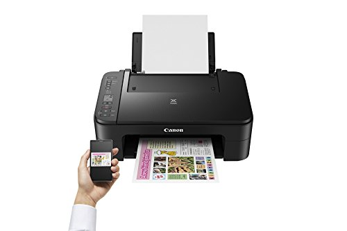 Impresora Multifuncional Canon PIXMA TS3150 Negra Wifi de inyección de tinta 6
