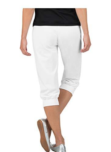 Blanc Swarovski® Cristaux Pantalon Avec De Trigema 3R54jLA