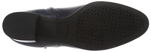 Geox D Petalus C, Botines para Mujer Blau (NAVYC4002)