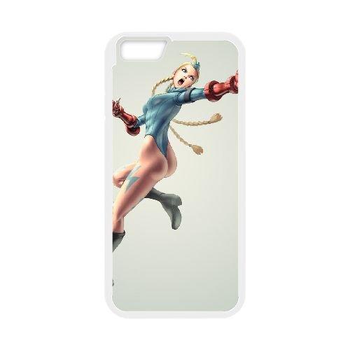 Street Fighter coque iPhone 6 Plus 5.5 Inch cellulaire cas coque de téléphone cas blanche couverture de téléphone portable EEECBCAAN02423