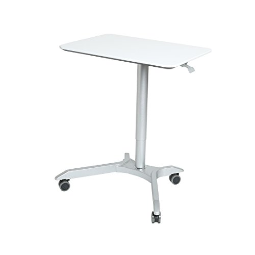 Seville Classics Airlift™ Sit-Stand Mobile Desk