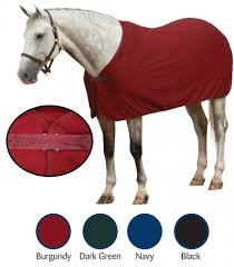 ER Centaur Turbo-Dry Dress Sheet - Size:Medium Pony Color:Burgundy