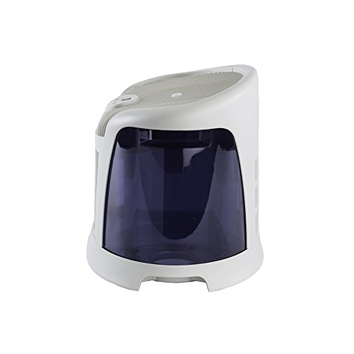 AirCare 3D6 100 Mini-Console-Style Evaporative Humidifier, White and Midnight Blue by AirCare (Image #5)