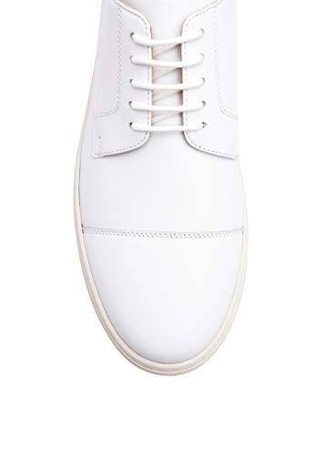 feinstem modernem Herren MS Freizeitschuh Laufsohle SHOEPASSION 65 Design mit Dynamischer für No Leder Weiß Handgefertigt bequemer und aus qwfg1Z
