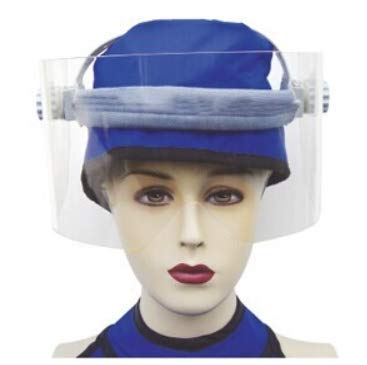 Radiation Protection Mask X ray Protective Lead Mask Eye Face Protection(Lead Cap not Included)