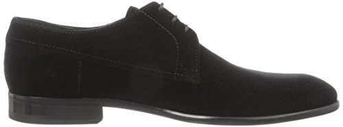Hugo Dressapp_derb_vlt 10195387 01, Zapatos de Cordones Oxford para Hombre Negro (Black 1)
