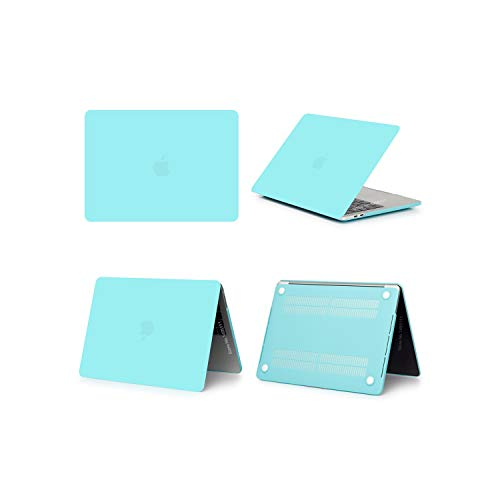 2019 Hard Matte Frosted Case Cover Sleeve for MacBook Air 11 A1465 air 13 inch A1466 pro 13.3 15 Retina A1502 Keyboard Cover,Matte Mint,Model A1502 A1425