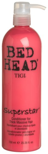 Amazon.com : TIGI Bed Head Superstar Conditioner for Thick Massive Hair, 6.76 Ounce : Standard Hair Conditioners : Beauty