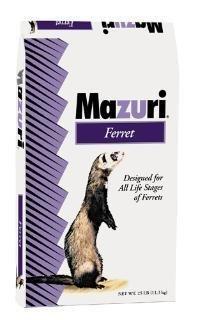 Mazuri Ferret Diet, 25 lb Bag by Mazuri