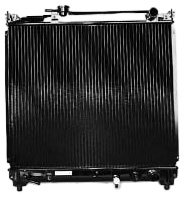 tyc-1864-suzuki-sidekick-2-row-plastic-copper-replacement-radiator