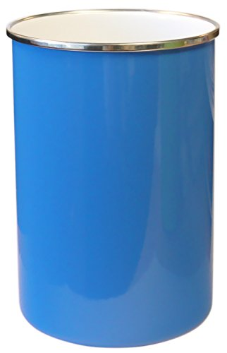 Calypso Basics by Reston Lloyd Enamel on Steel Utensil Holder, Azure