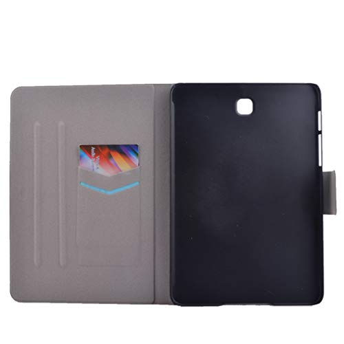 Bookstyle Closure Dream Card 9 PU Galaxy for LMFULM Foldable Smart Slot of Samsung Leather T820 Magnetic Tab S3 7 Inch Pattern Thin Case SM 3 Cover Hard Catcher Case Color Wak Auto T825 Ultra Case with pWzz7FnB