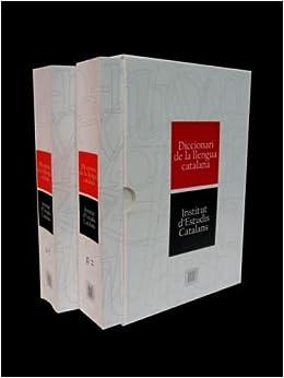 Descargar Libros Ingles Diccionari De L'institut D'estudis Catalans - Diec Archivo PDF A PDF