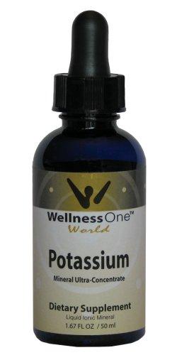 Potassium - Premium Liquid Ionic Mineral (100 days at 50 mg Per 10 Drop Serving) 50 ml bottle ()