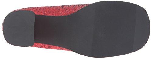 Ellie Chaussures Femmes 300-eden-g Plate-forme Pompe Rouge Paillettes