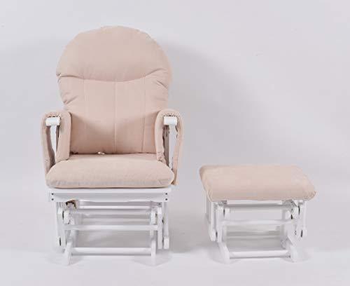 Habebe Glider Rocking Nursing Maternity Recliner Chair