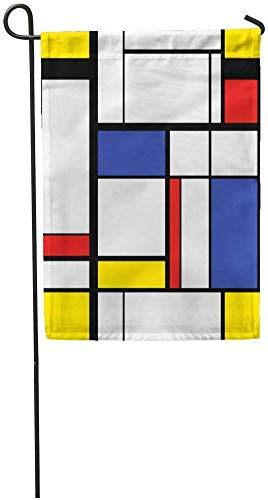 Garden Flags Seasonal Flag Funny Flag 12x18 Inches Blue Pattern ...
