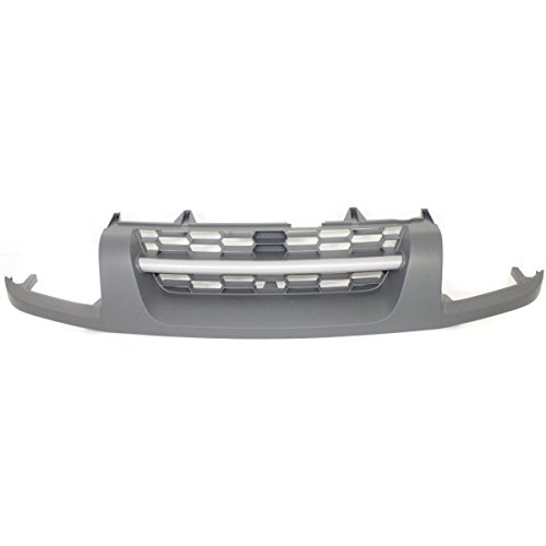 Nissan Xterra 2004 Grille (Elite7 Front Grille Replacement for Nissan Xterra 02-04 XE NI1200199)