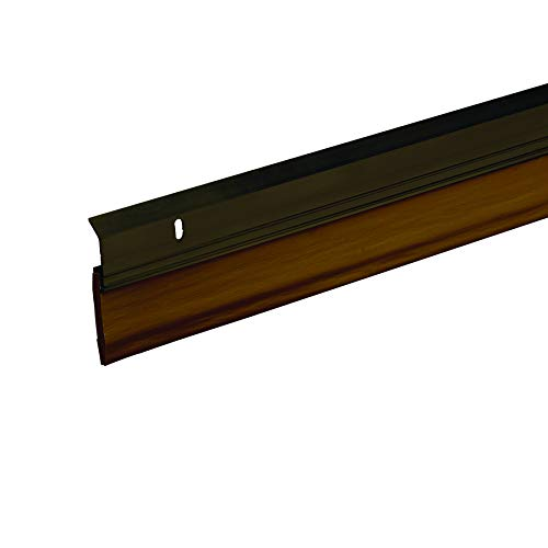 Frost King A82/36BR Extra Wide Heavy Duty Alum/Vinyl Door Sweep, 2-3/8In Wide x 36In Long, ()