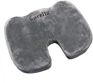 Finn Karelia Memory Foam Hemorrhoid Seat Cushion for Home, Office, Car, and More (1 Pack)