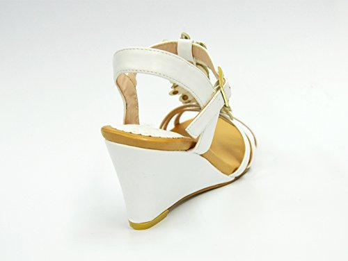 Oh My Shop Women's Heel strap White gSchjpe
